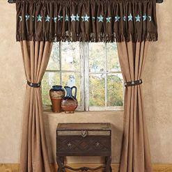 Laredo Tan Single Panel Curtain