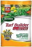 Scotts 50250 Turf Builder Winter Guard Fall Weed & Feed Fertilizer, 5 M