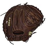 Wilson Game Ready Soft Fit Baseball Catcher Mitt, Right Hand Throw, 34'