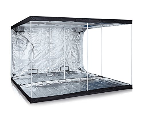 Anjeet 120'x120'x80' Grow Tent Mylar Hydroponic Grow Tent for Indoor Plant Growing Non Toxic Hut (120'x120'x80')