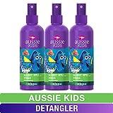 Aussie Kids Detangler, Finding Dory, Bloomin' Apple, 8 fl oz, Triple Pack