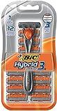BIC Hybrid 3 Comfort Disposable Razor, Men, 12 Count