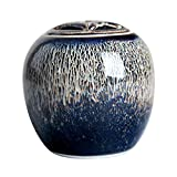 MUJING Gradient Blue Ceramic Small Pet Cremation Urn