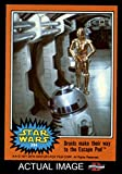 1977 Topps Star Wars # 294 Droids make their way to the Escape Pod (Card) Dean's Cards 8 - NM/MT 1507081