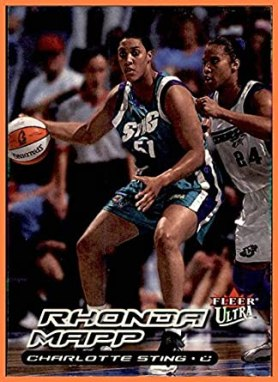 2000 Ultra WNBA #58 Rhonda Mapp CHARLOTTE STING NORTH CAROLINA ...