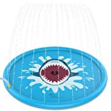 Jasonwell Sprinkle & Splash Play Mat 68' Sprinkler for Kids Outdoor Water Toys Fun for Toddlers Boys Girls Children Outdoor Party Sprinkler Toy Splash Pad