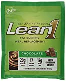 Nutrition 53 Lean 1 Dietary Supplement, Chocolate, Pack of 15