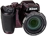 Nikon B500 16 MP Point & Shoot Digital Camera, Plum