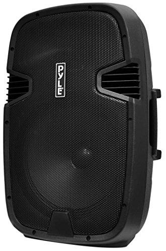 Pyle Bluetooth PA Loudspeaker [Powered Speaker DJ System] Built-in Rechargeable Battery | MP3/USB/SD/FM Radio | 15'' Subwoofer | 1000 Watt (PPHP152BMU)