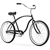 Firmstrong Chief Man Single Speed Beach Cruiser Bicycle, 26-Inch, Black