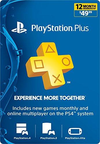 1-Year PlayStation Plus Membership - PS3/ PS4/ PS Vita [Digital Code]