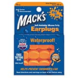 Mack's Soft Moldable Silicone Putty Ear Plugs – Kids Size, 6 Pair – Comfortable Small Earplugs for Swimming, Bathing, Travel, Loud Events and Flying