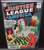 Justice League America #1 Comic Book Cover 2 x 3 Fridge Locker MAGNET