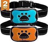 PawPets Anti Bark Collar - No Bark Collar - Bark Collar for Small Medium Large Dogs 5-15lbs