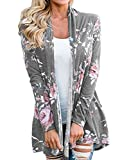 Product review for Xinglan Women's Casual Long Sleeve Floral Print Cardigan Outwear Tops Jackets