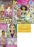Create a Face Bundle Princess. Inlcludes 1 Princess Sticker Face, 1 Fashion Diva Sticker Faces, 1 Disney Princess Create a Scene and 1 Celebrate Post Card