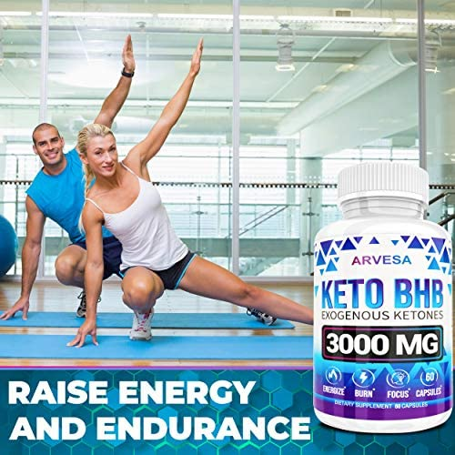 Keto Diet Pills - 5X Dose (2 pack | 3000mg Keto BHB) - Best Exogenous Ketones BHB Supplement for Women and Men - Boost Energy & Focus, Support Metabolism - Made in USA - 120 Capsules 8