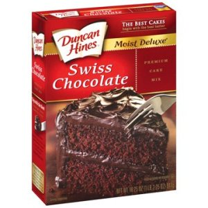 Duncan Hines Swiss Chocolate Layer Cake 51yT5z77nuL