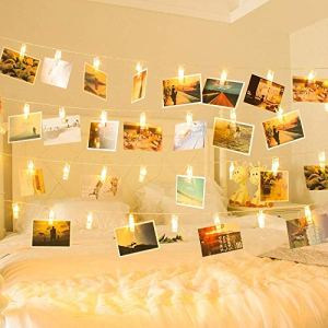 Photo Clip Fairy Lights - Goldilocks Effect