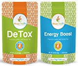 Organic DeTox and Energy Boost Teatox - Weight Loss, Body Cleanse, Appetite Control, Tasty, TOP Quality, Unique Blend, All Natural from Magic Teafit