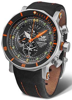 Vostok europe lunokhod 2 YM86-620A506 Mens Japanese-Quartz Watch