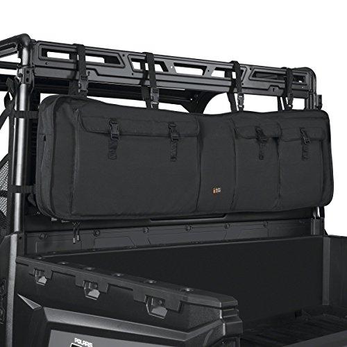 Classic Accessories 18-129-010401-00 Black QuadGear UTV Double Gun Carrier (For Most UTV Roll Cages)