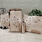 Croscill Home Magnolia Floral Bath Towel Set Bronze Bath Hand Fingertip