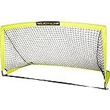 Franklin Sports Blackhawk Portable Soccer Goal, Optic Yellow, 12' x 6'