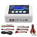 HTRC LiPo Charger Battery Balance Discharger 150W 10A 1-6S AC/DC C150 for NiCd Li-ion Life NiMH LiHV PB Smart Battery (White)