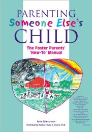 Parenting Someone Else's Child by [Stressman, Ann]