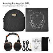 COWIN-E8-Upgraded-Active-Noise-Cancelling-Headphone-Bluetooth-Headphones-with-Microphone-Hi-Fi-Deep-Bass-Wireless-Headphones-Over-Ear-20-Hour-Playtime-for-TravelWorkTVComputerPhone-Orange