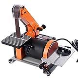 Goplus Belt and 5-Inch Disc Sander, 1 x 30-Inch, 1/3HP Polish Grinder Sanding Machine