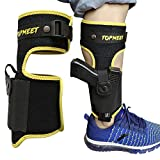 topmeet Ankle Gun Holster Concealed Carry,with Tactical Magazine Pouch - Yellow