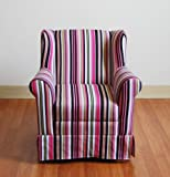 Product review for 4D Concepts Girls Striped Wingback Chair