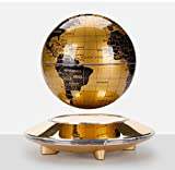 Educational Magnetic Rotating Levitation Floating 6 inch Wolrd Map Globe Display in Air