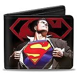 Buckle-Down Wallet Superman Forever Clark Kent-superman Transition/shiel Accessory