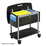 Product review for Safco Products 5370BL Scoot Mobile File with Work Surface, Letter or Legal Size, Black with Silver Accent