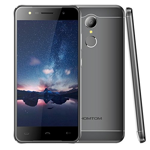 HOMTOM HT37 2GB+16GB 5.0 Inch 2.5D Android 6.0 MTK6580 Quad Core up to 1.3GHz WCDMA & GSM (Grey)