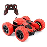 Rimila Electric RC Stunt Car 2WD Off Road Remote Control Vehicle 2.4GHz Racing slot Cars Extreme High Speed 7.5MPH 360 Degree Rolling Rotating Rotation(Battery Not Included)