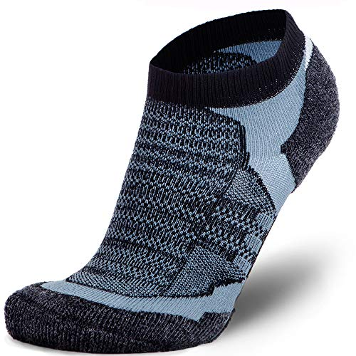 pick up best sneakers watch Merino Wool Socks Men and Women - Low Cut Cushioned Athletic ...