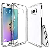 S6 Edge Plus Case, Galaxy S6 Edge Plus Clear Case, ULAK Slim Hybrid Transparent Scratch Resistant Protective Cases for Samsung Galaxy S6 Edge Plus, Soft TPU Bumper and Hard Crystal Clear