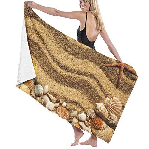 NiYoung Ultra Soft 100% Polyester Bath Towels Beach Sand Quick Drying Hand Towels Shower Towel Salon Towel Bath Sheets, Machine Washable High Absorbency Bathroom Towel