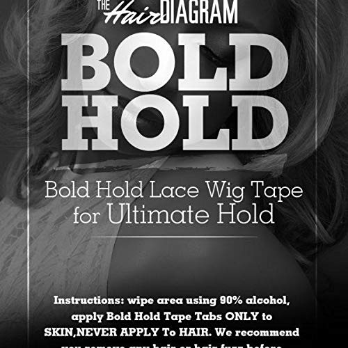 Bold Hold WIG Tape for Lace Wigs and Hair pieces