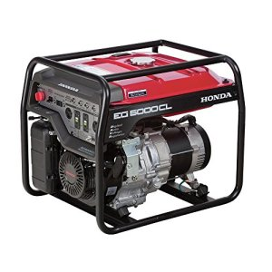 Honda 4500-Watt Gasoline Generator with GX390 OHV Commercial Engine and Oil Alert