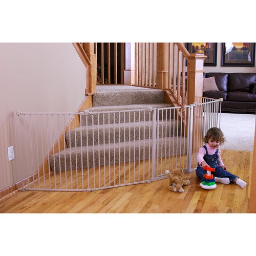 Regalo - 4-in-1 Extra Large Metal Playard