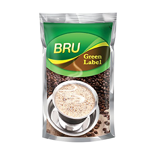 51zGLUjl4dL - Bru Green Label Filter Coffee - Ground & Roast, 500 g