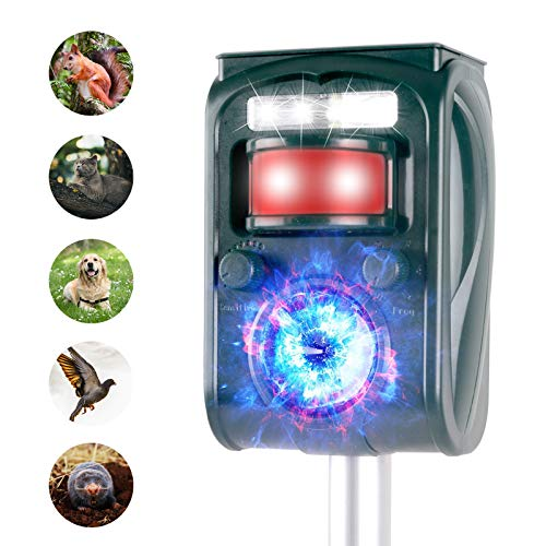 JIA LE Ultrasonic Animal Repeller