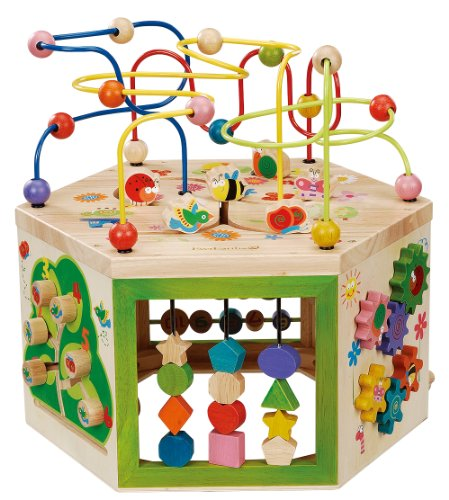 EverEarth Garden Activity Cube. Wood...