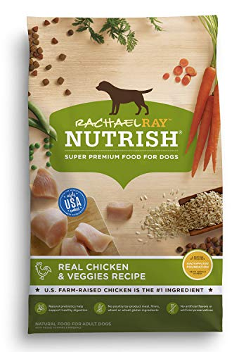 Rachael Ray Nutrish Real Chicken & Veggies Recipe Dry Dog Food, 28 Pounds