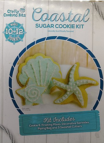 Crafty Cooking Kits Cookie Nativity Kit, Coastal Sugar Cookie Kit, 10.5 Ounce Crafty Cooking Kits
